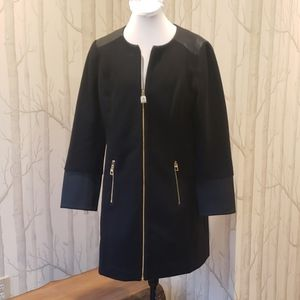 Sail to Sable Black Coat NWT Size Med